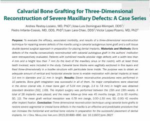 International Journal of Oral & Maxillofacial Implants
